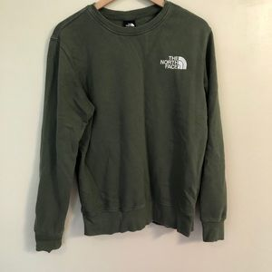 The North Face Green Pullover Crew Neck Sweatshirt